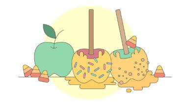 秋の訪れ。Caramel Apple…とは?