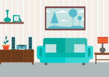 マイホーム新築時に購入した家具紹介【リビング&ポスト】